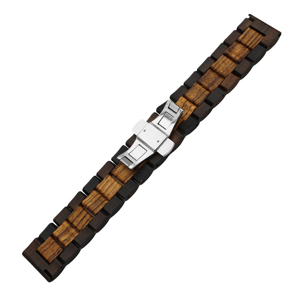 maple wood und rotbraunes Holz Armband für die Samsung Watch