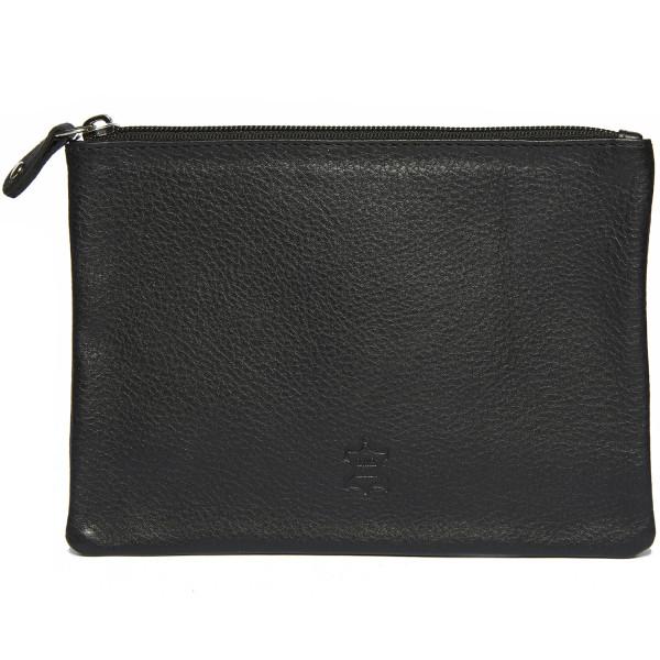 wildery banktasche bzw. dokumententasche in schwarz