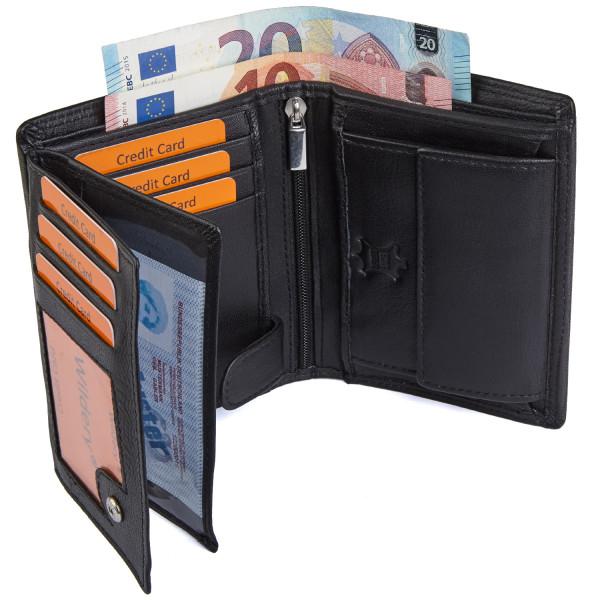 wildery geldbörse in schwarz