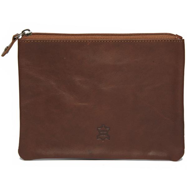 wildery banktasche bzw. dokumententasche in braun