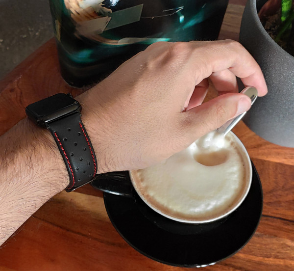wildery leder ersatzarmband für die apple watch series 1 bis 7
