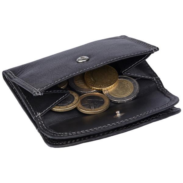 kleine geldbörse in schwarz