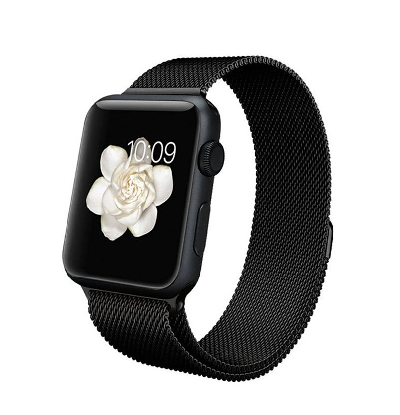 apple watch armband 38mm 42mm milanaise bracelet watch. Black Bedroom Furniture Sets. Home Design Ideas